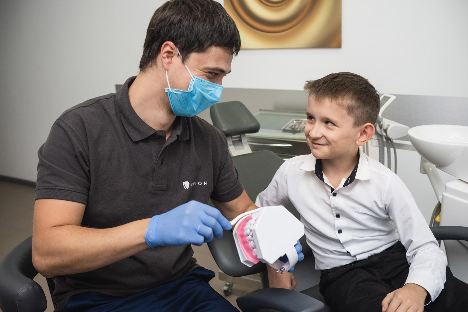 Детская стоматология в Киеве (Лукьяновка) | Epion Dental Center